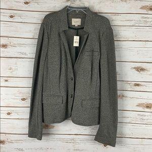 NWT loft jacket/blazer size large 2 button front